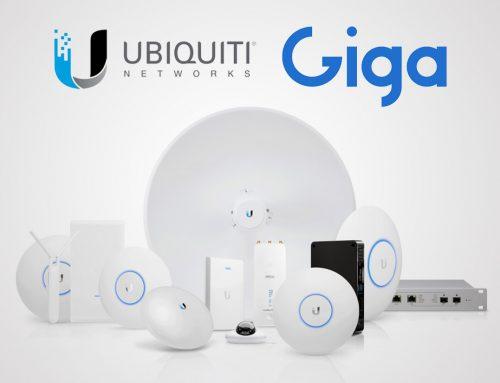 شركة Giga تتحصل على الوكالة المباشرة لشركة Ubiquiti Networks الأمريكية