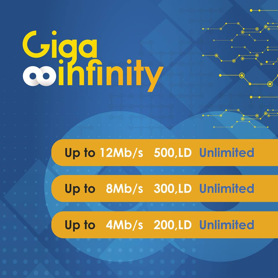 Giga Infinity now with Double the Speed!